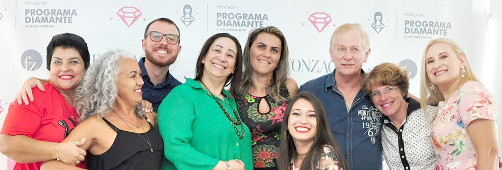 Reconhecimento das Consultoras Diamante Fonzaghi